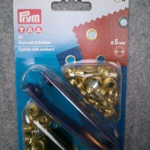 Snøreringe 5 mm