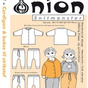 Onion 10021 snitmønster