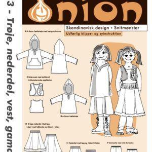 Onion 20033 snitmønster