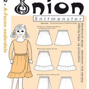 Onion 20052 snitmønster