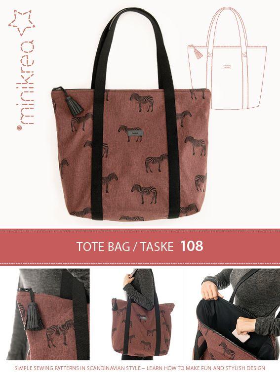 minikrea taske mønster