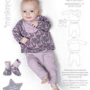 Minikrea 11420 Babysæt med sko