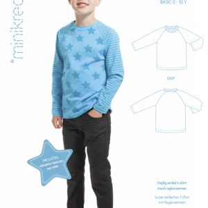 Minikrea 50222 raglan t-shirt