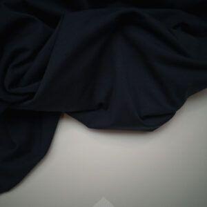 mørke blå bomulds jersey