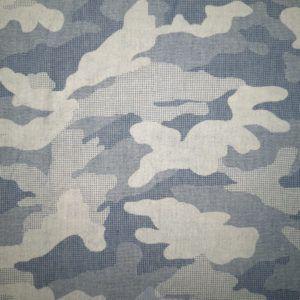 blå denim camouflage