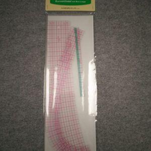 Clover kurve lineal sæt