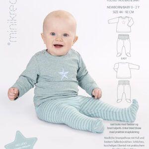 Minikrea 11409 Sparkebuks og bluse