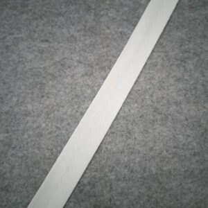 skråbånd 20 mm hvid