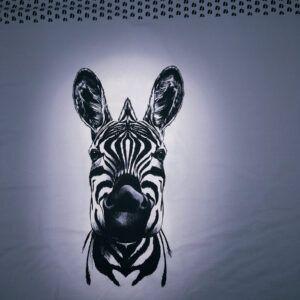 digital printet zebra