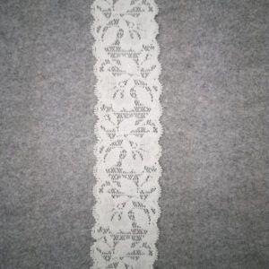 elastisk blonde hvid 5,5 cm