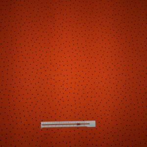 prikket bomuldsjersey orange