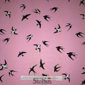 lyserød isoli/jogging med svaler
