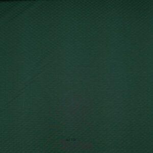 Quiltet jaquard jersey grøn