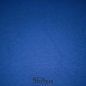 klar blå rundstrikket rib