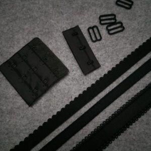 sort tilbehørs pakke til Bh syning passer til BT048