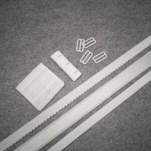 Hvid tilbehørs pakke til Bh syning passer til BT052