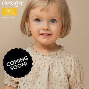 Ottobre Design Kids nr. 3/2021 engelsk symagasin.