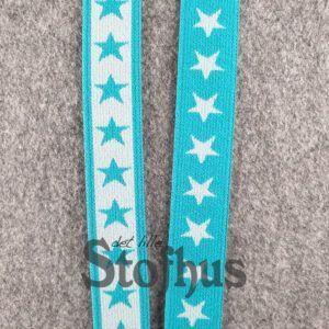 Boxershorts elastik i turkis 20 mm