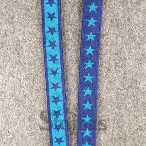 Boxershorts elastik i mørk blå 20 mm