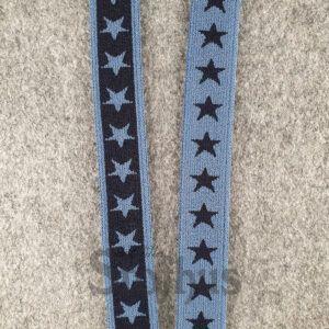 Boxershorts elastik i støvet blå 20 mm