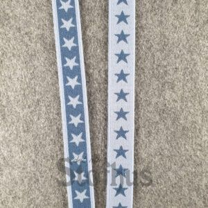 Boxershorts elastik i grå/blå 20 mm