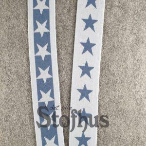 Boxershorts elastik i grå/blå 40 mm