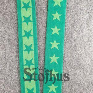 Boxershorts elastik i grøn 40 mm