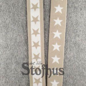 Boxershorts elastik i beige 40 mm