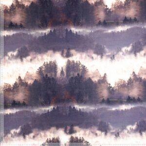 isoli grå blå skov